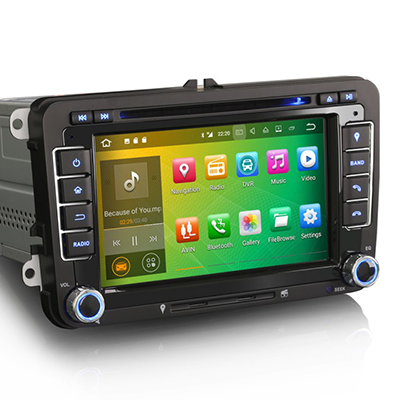 test radio android avec gps pour vw golf 5 autoradio. Black Bedroom Furniture Sets. Home Design Ideas