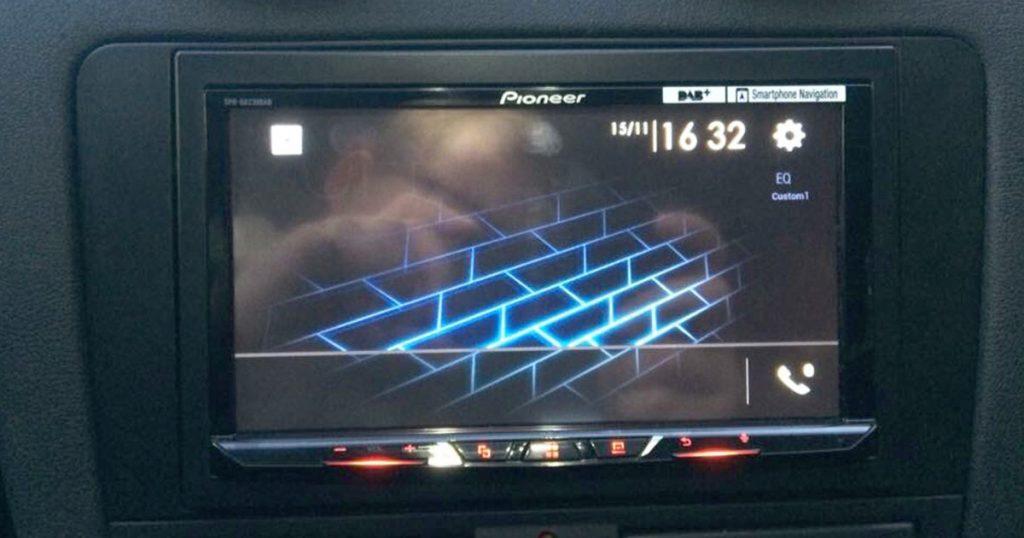 Autoradio multimédia pioneer sph da230dab